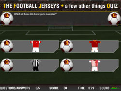 The Football Jerseys Quiz