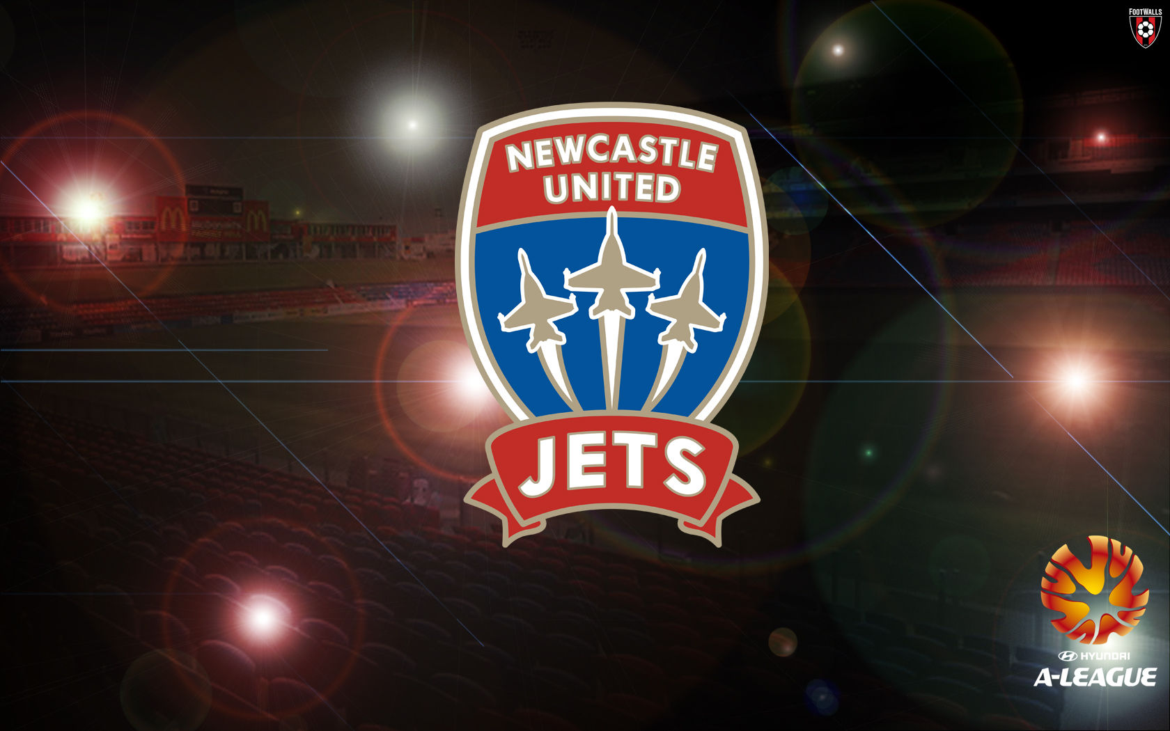 Wallpaper Newcastle Jets Logo