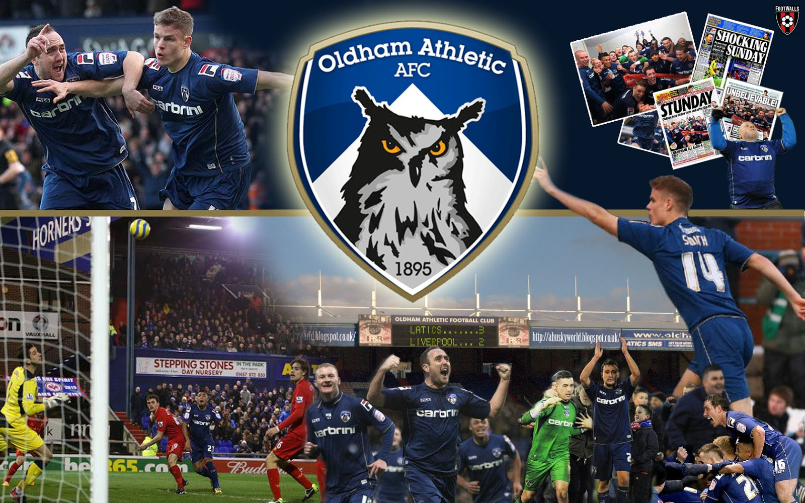 Oldham Athletic Wallpaper #2