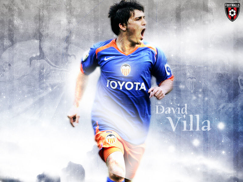 David Villa Wallpaper